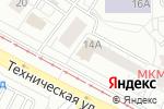 Схема проезда до компании Париж в Екатеринбурге