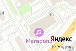 Схема проезда до компании New Look в Екатеринбурге