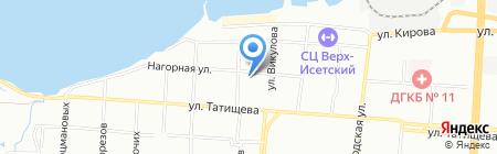 Проект-М на карте Екатеринбурга