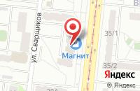 Схема проезда до компании Гарантия Успеха в Екатеринбурге