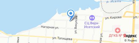 Урал-Знак на карте Екатеринбурга