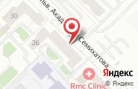Схема проезда до компании Передовые Системы в Екатеринбурге