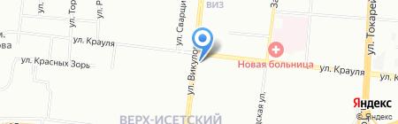 ГОЛД-СВ на карте Екатеринбурга