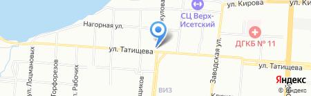 Finezza на карте Екатеринбурга
