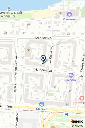 ПономаревойС.Ф. на карте Екатеринбурга