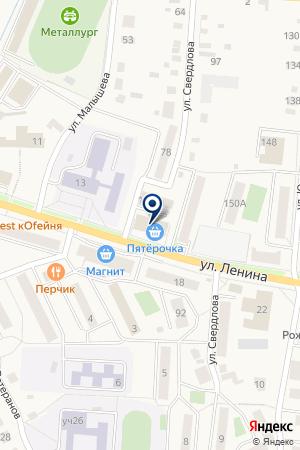 ЦЕНТР ТЕХНИЧЕСКОГО ОБСЛУЖИВАНИЯ АРТКОМ-К на карте Кыштыма