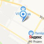 Детский сад №1 на карте Верхней Пышмы