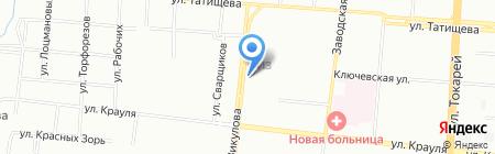 СПЕЦНАЗ-УРАЛ на карте Екатеринбурга