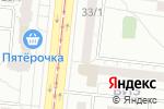 Схема проезда до компании Массажный кабинет в Екатеринбурге