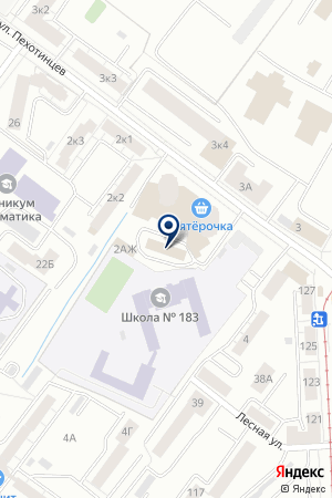 Эстель на карте Екатеринбурга