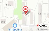Схема проезда до компании Модарк в Екатеринбурге