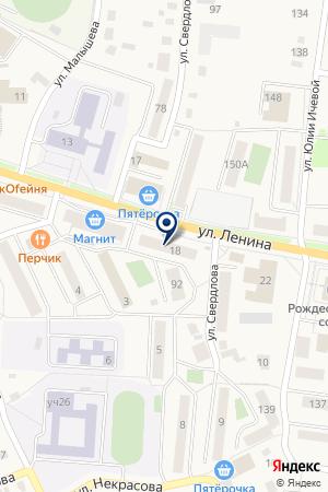 МАГАЗИН ВАРВАРА на карте Кыштыма