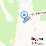 Детский сад №2 на карте Верхней Пышмы