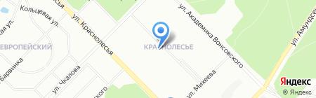 Идеал на карте Екатеринбурга