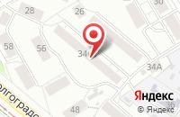 Схема проезда до компании Редант в Екатеринбурге