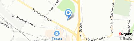 Потенциал здоровья на карте Екатеринбурга