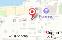Схема проезда до компании Миоцен в Екатеринбурге