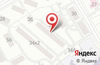 Схема проезда до компании Техпромкомплект в Екатеринбурге