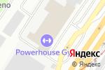 Схема проезда до компании СанСаныч в Екатеринбурге