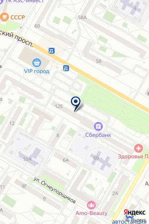 Сакура на карте Екатеринбурга