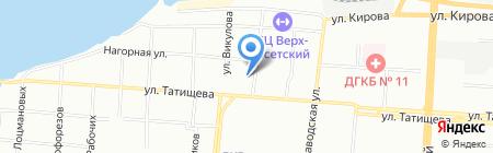 Уралоргмонтаж на карте Екатеринбурга