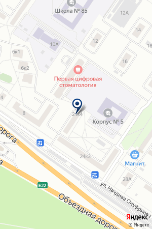 Трэк на карте Екатеринбурга