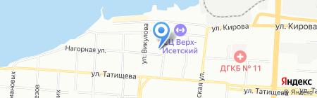 Реал Системы Безопасности на карте Екатеринбурга