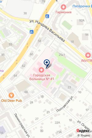 Ралзо на карте Екатеринбурга