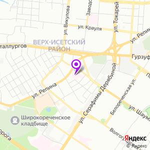 Городская больница №41 на карте