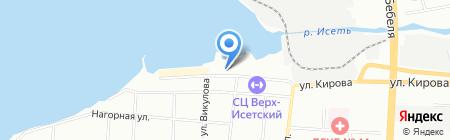 СТШ ДОСААФ России на карте Екатеринбурга
