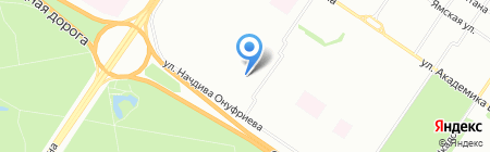 Столовая на карте Екатеринбурга