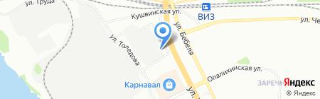 Акула-Service на карте Екатеринбурга