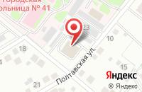 Схема проезда до компании Титус в Екатеринбурге