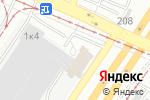 Схема проезда до компании КрепежСтрой в Екатеринбурге