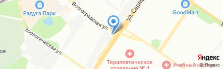 АВ ЛОДЖИСТИК на карте Екатеринбурга