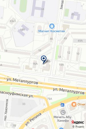 ПЛМ-Сервис на карте Екатеринбурга