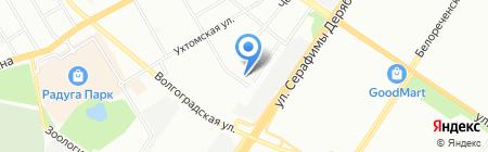 Урал-АвтоРесурс на карте Екатеринбурга
