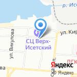 Louis De Fleur на карте Екатеринбурга