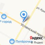Русская пиротехника на карте Верхней Пышмы