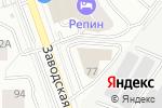 Схема проезда до компании Невотекс в Екатеринбурге