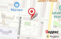 Схема проезда до компании Арника в Давыдово