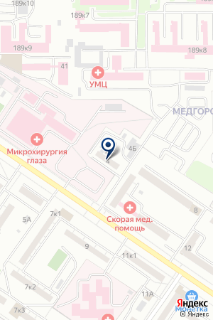 Паллада на карте Екатеринбурга