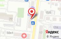 Схема проезда до компании Favorite Flower в Подольске
