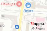 Схема проезда до компании IT-Style в Екатеринбурге