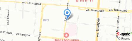 Молочные продукты на карте Екатеринбурга