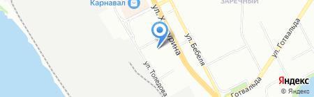 Аква-Кит на карте Екатеринбурга