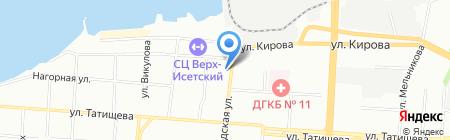 СтеклоДом на карте Екатеринбурга