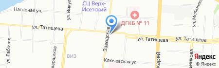 Ифтэк на карте Екатеринбурга