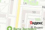 Схема проезда до компании Яблоко в Екатеринбурге