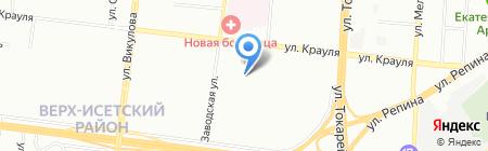 Оптимус на карте Екатеринбурга